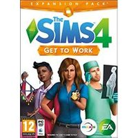 The Sims 4 Get To Work Expansion Pack (PC DVD)