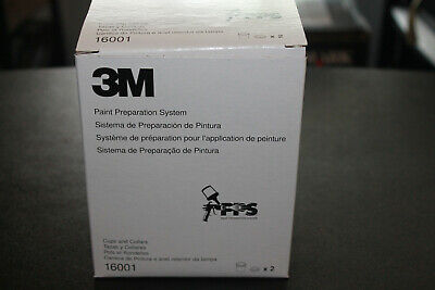 3M PAINT PREPARATION SYSTEM CUPS AND COLLARS 16001 2 PACK