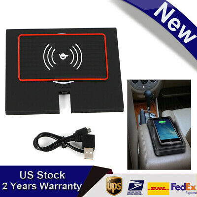 USB Phone Wireless Charger & Anti-slip Mat quickly charging for Toyota Camry