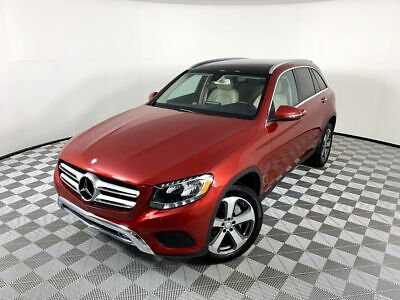 2017 Mercedes-Benz GLC GLC 300 2017 Mercedes-Benz GLC GLC 300 25073 Miles Red Sport Utility 4 Cylinder Engine 2