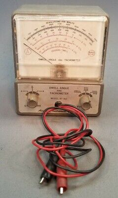 Dwell Angle And Tachometer Model BT-162 Vintage Accurate Instrument Co. Inc.