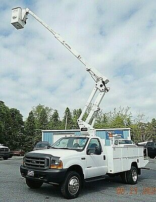 FORD F550 S.D. 7.3 POWERSTROKE 42' LIFT-ALL BUCKET TRUCK * NO RESERVE AUCTION
