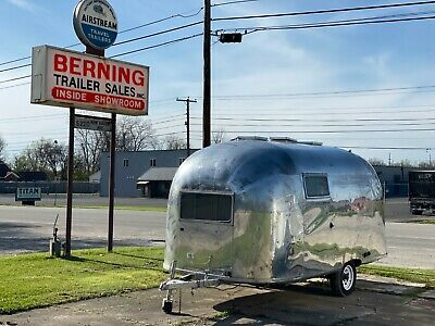 1959 Airstream 18' Globester travel trailer ULTRA RARE NO RESERVE FREE DELIVERY!