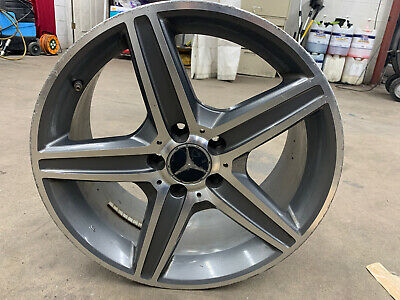 10 11 12 Mercedes C250 C300 C350 AMG Wheel Rim 8.5 x 18 NOT OEM