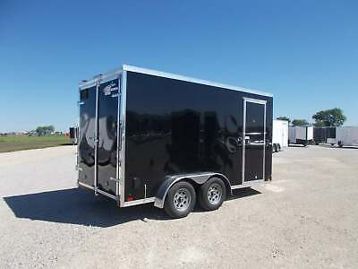 2021 Cross Trailers  7X14' Enclosed Cargo Trailer 12'+Tall 4 D-Rings