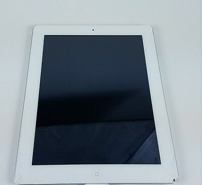 Silver Apple Ipad 16 GB Model # A1395 - For Parts Or Repair Only LOCKED