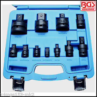 BGS - Impact Adaptor & Universal Joint Set - 1/4 to 1