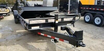 2021 Sure-Trac 7x18+4 Tilt Deck Equipment Trailer
