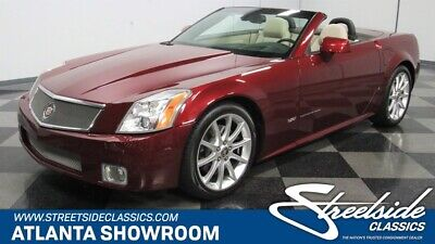 2006 Cadillac XLR  classic vintage chrome caddy xlr-v supercharger 4.4 liter auto transmission red