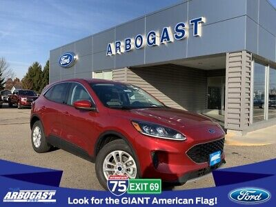 2020 Ford Escape SE 2020 Ford Escape SE 5 Miles Red 4D Sport Utility 1.5L EcoBoost 8-Speed Automatic