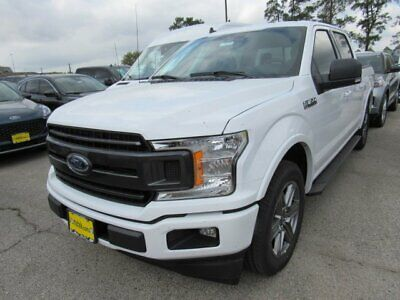 2020 Ford F-150 XLT 2020 Ford F-150 XLT 5 Miles Oxford White Crew Cab Pickup Twin Turbo Regular Unle