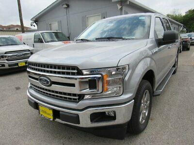 2020 Ford F-150 XLT 2020 Ford F-150 XLT 5 Miles Iconic Silver Metallic Crew Cab Pickup Twin Turbo Re