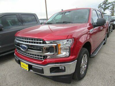 2020 Ford F-150 XLT 2020 Ford F-150 XLT 5 Miles Rapid Red Tinted Crew Cab Pickup Twin Turbo Regular