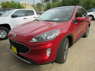 2020 Ford Escape SEL 2020 Ford Escape SEL 5 Miles Rapid Red Tinted Sport Utility Intercooled Turbo Pr