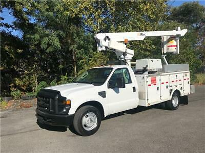 2008 Ford F-350 DRW ALTEC 35ft Bucket Truck Onan Only 73k