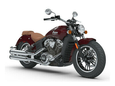 2018 Indian Scout® ABS  1212 Miles Burgundy Metallic