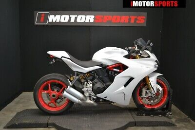 2018 Ducati SuperSport S White Silk  2018 Ducati SuperSport S White Silk, WHI with 2170 Miles available now!