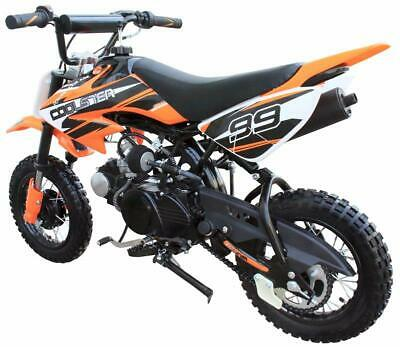 NEW Coolster 110 CC Kids Youth Dirt Bike Motorcycle Orange Red Blue Black Colors