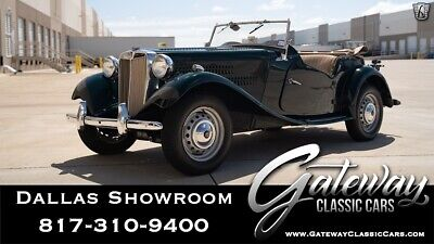 1953 MG T-Series  Green 1953 MG TD Convertible 1250 CC  Inline 4 4 Speed Manual Available Now!