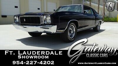 1972 Chevrolet Monte Carlo  Purple 1972 Chevrolet Monte Carlo Coupe 350 CID V8 3 Speed Automatic Available N