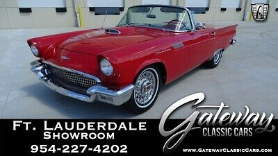 1957 Ford Thunderbird  Red 1957 Ford Thunderbird Convertible 312 CID V8 3 Speed Automatic Available Now