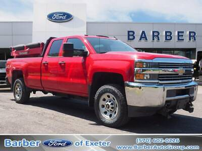 2015 Chevrolet Silverado 2500 WT 66445 Miles Red Other/Specialty 8