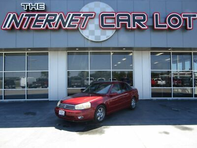 2003 Saturn L-Series L-300 Automatic 2003 Saturn LS, Medium Red with 124214 Miles available now!