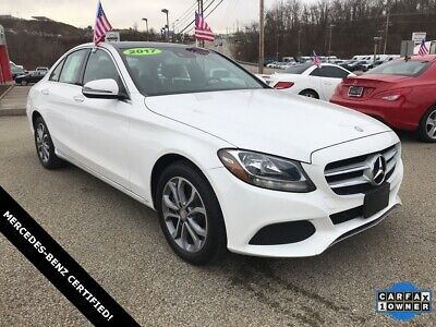 2017 Mercedes-Benz C-Class C 300 Polar White Mercedes-Benz C-Class with 43769 Miles available now!