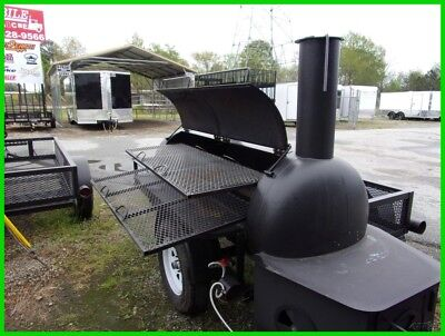 2020 Bubba Grills Bubba Grill 250r 5x10 trailer with smoker New
