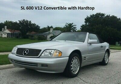 1996 Mercedes-Benz SL-Class SL600 SL 600 6.0L V12  Convertible 1996 Mercedes SL600 Brand New Top and All Top Hydraulics, No Accidents, No Rust