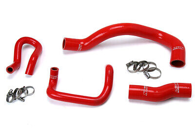 HPS Red Reinforced Silicone Radiator + Heater Hose Kit for Lexus 01-05 IS300 I6