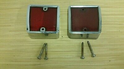 68 69 70 71 72 83 74 75 76 Ford Truck Pickup Red Reflector Lens