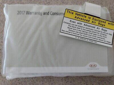 2017 Kia Soul owners manual, reference guide and warranty booklets (see photos)