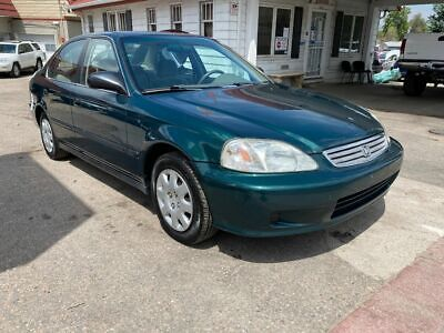 1999 Honda Civic LX 4dr Sedan 1999 Honda Civic, Green with 122653 Miles available now!